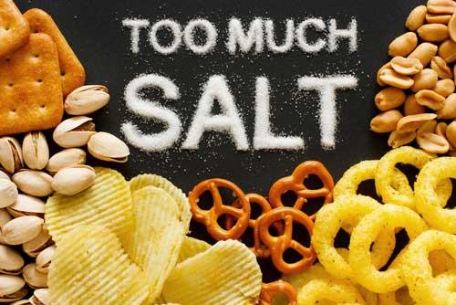 Sodium reduction flavor additive sea salt healthy salt